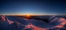 Sonnenuntergang vom Falkertspitz_Nockberge Trail_© Tine Steinthaler